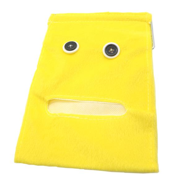 Cute Toilet Paper Roll Holder Pouch (Yellow)