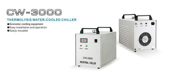 CW-3000 Industrial Water Cooler Chiller for CO2 Laser Machine Coolant
