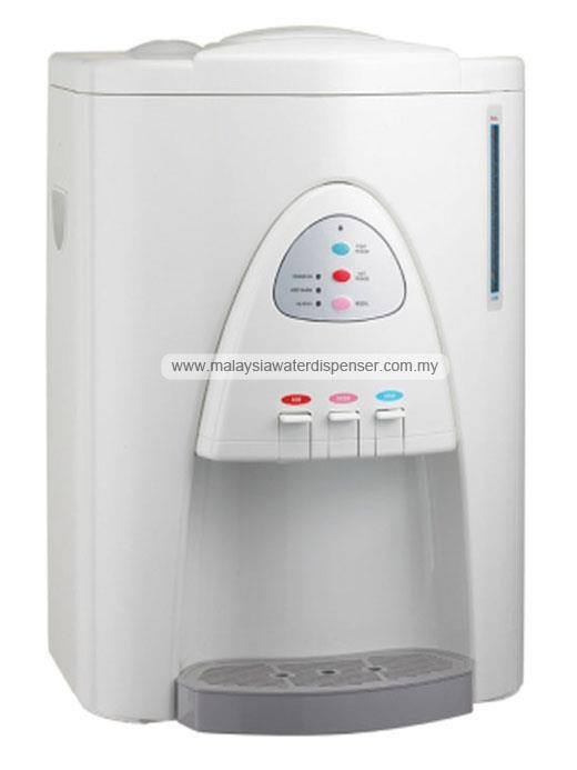 cw919 hot warm cold water dispenser 4 stages pipe in system