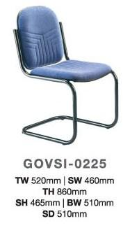 Cyber Cafe Office Visitor Chair model GOVSI-0225