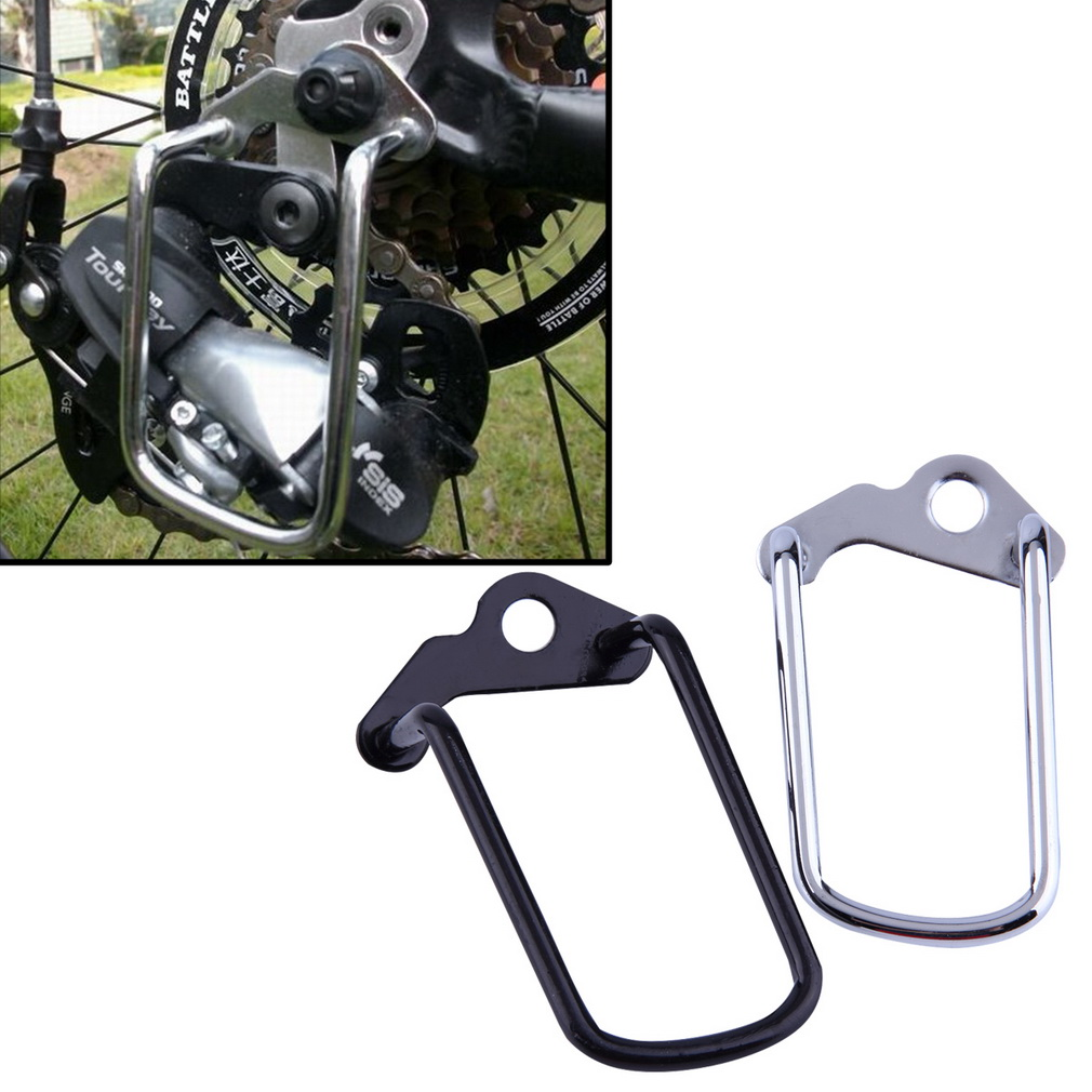 Cycling Bike Bicycle Rear Gear Derailleur Chain Stay Guard Protector
