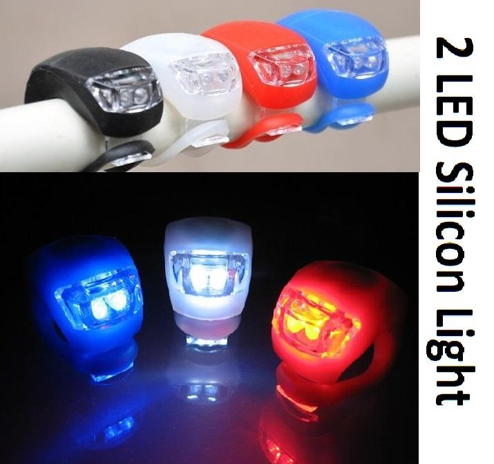 Cycling Silicon Light - 2 LED