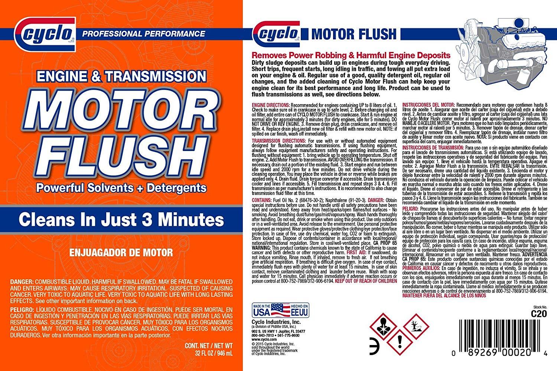 Cyclo Motor Flush Engine Transmiss End 762021 1200 Am