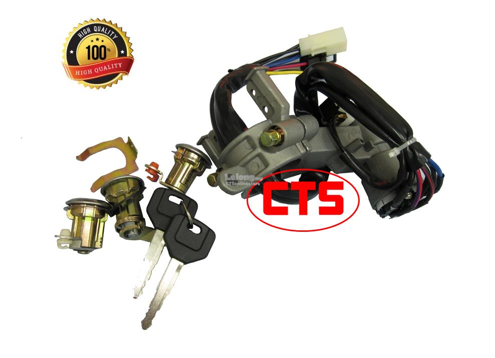 Cylinder Key Lock Set - Proton Saga Sedan [Whole Car]