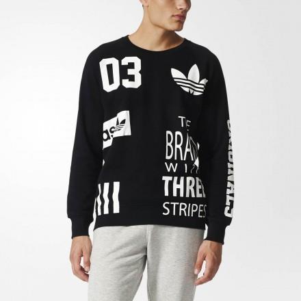 black adidas long sleeve shirt