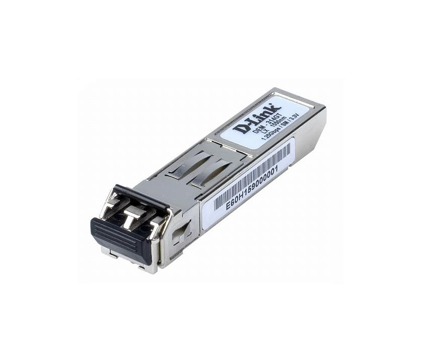 D-Link 1000BASE-LX Single-Mode SFP 50km Transceiver (DEM-314GT)