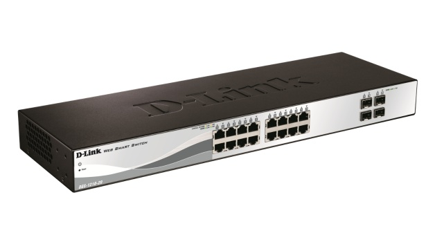 D-LINK 16-PORT GIGABIT + 4-PORT SFP SWITCH (DGS-1210-20)