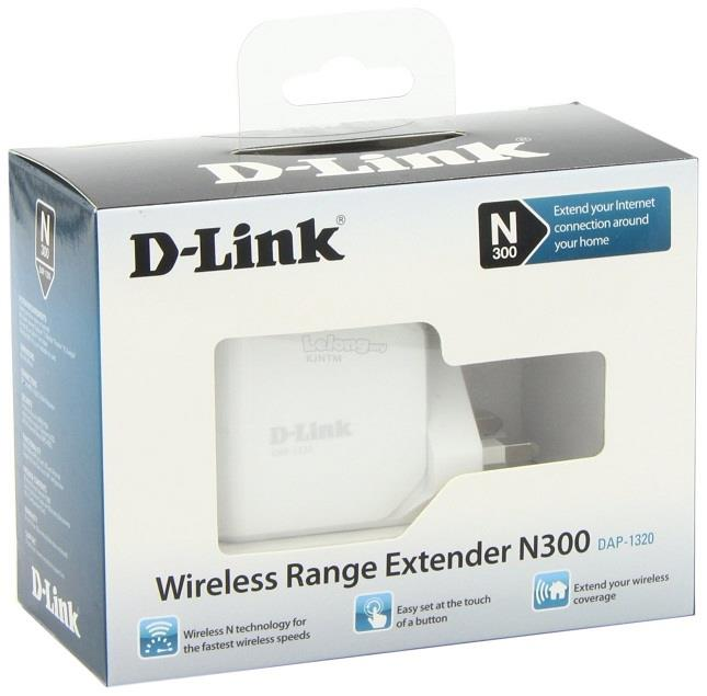 D-LINK 300Mbps Repeater WiFi Wireless Booster Range Extender DAP-1320