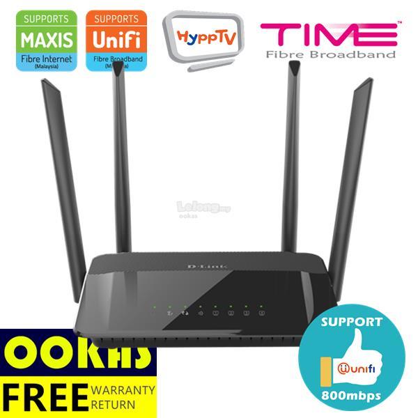 D-LINK AC1200 Gigabit Wireless MU-MIMO AC WiFi Router DIR-842 UniFi