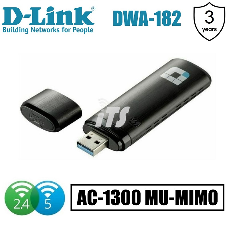 D-Link AC1200 Wireless Dual Band USB Adapter