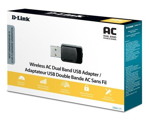 D-Link AC600 Wireless Dual Band Mini Adapter