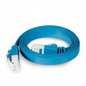D-Link Cat6 Flat Ethernet Cable 1 Meter (D-NCB-C6UF-10/BLU/HF/A)
