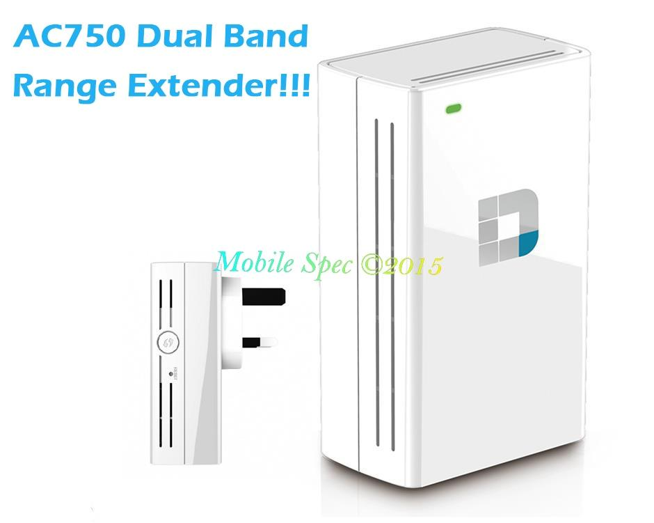 D-Link DAP-1520 AC750 Dual Band WiFi Range Extender Repeater Booster