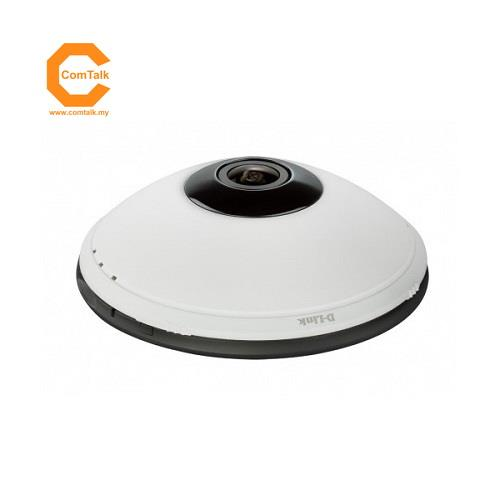 D-Link DCS-6010L Cloud Wireless N 300Mbps Fisheye IP Camera (mydlink)