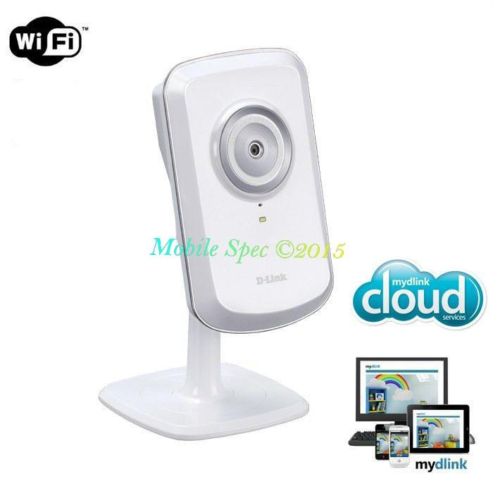 D-Link DCS-930L WiFi Wireless N Surveillance IP Cloud Camera CCTV