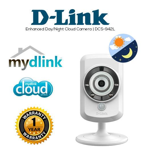 6e0f7042d D-LINK DCS-942L Wireless N Day Night SD Recording IP Cloud Camera. ‹ ›