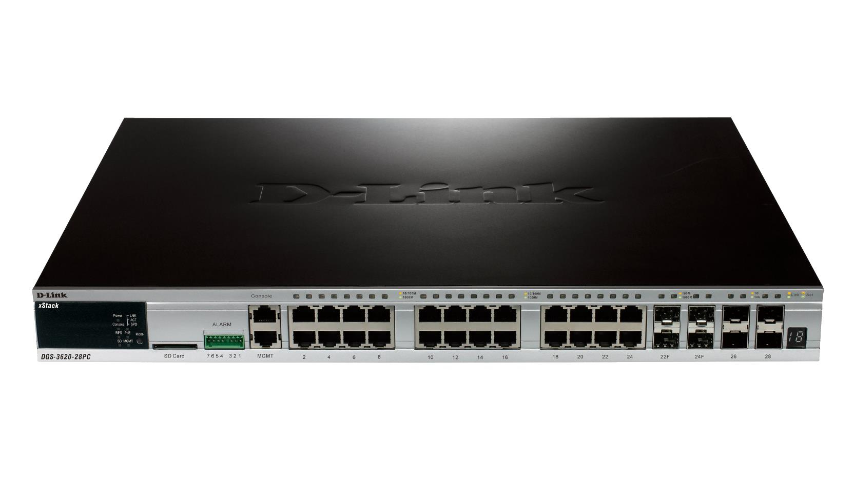 D-Link DGS-3420-26SC xStack L2 Managed Stackable Gigabit Switches