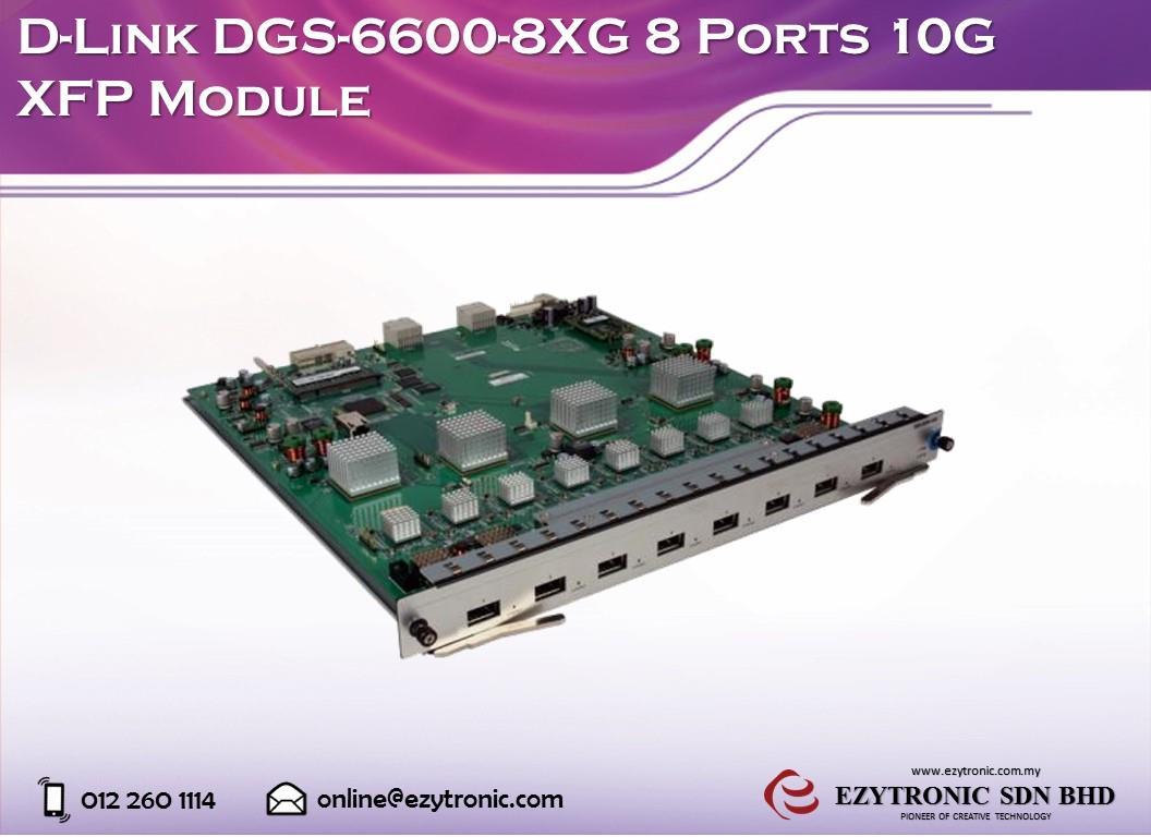 D-Link DGS-6600-8XG Switch Linux