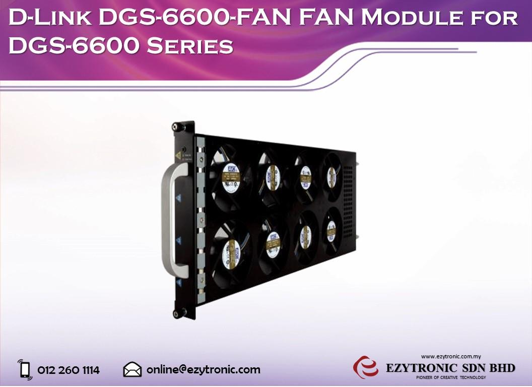 D-Link DGS-6600-FAN FAN Module for DGS-6600 Series