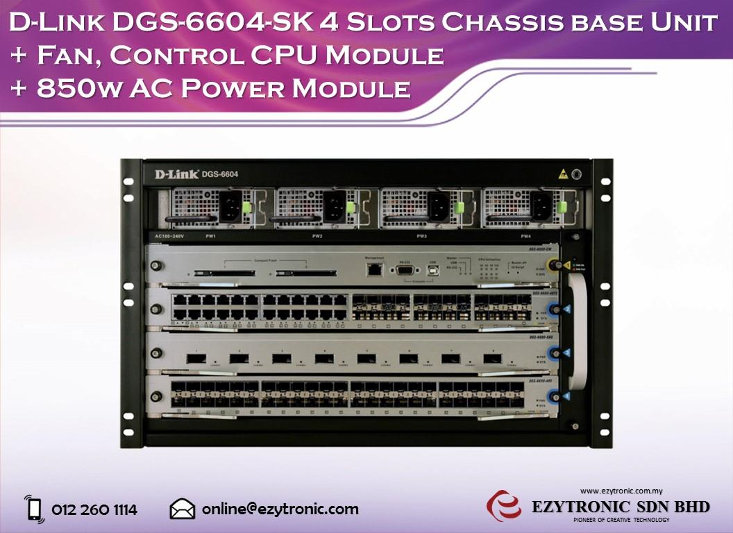 Driver for D-Link DGS-6604 Switch