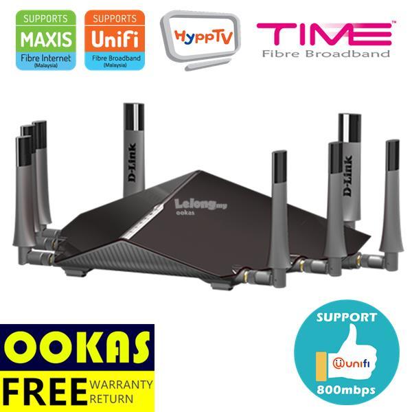 D-LINK DIR-895L AC5300 Ultra Wi-Fi Tri-Band Wireless Router UniFi