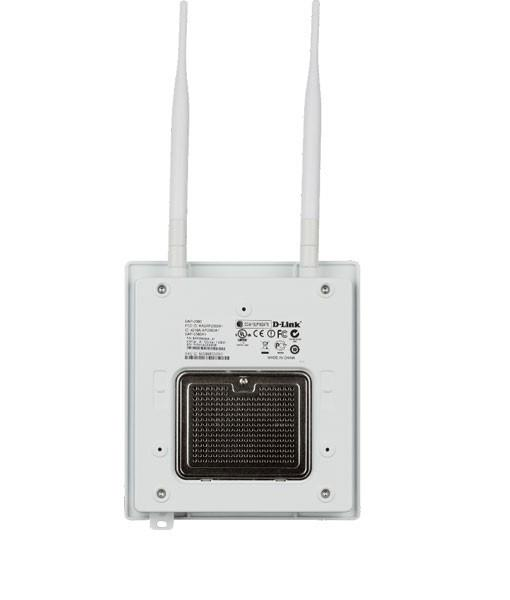 D-Link Plenum-rated N300 Wireless PoE Access Point (DAP-2360)