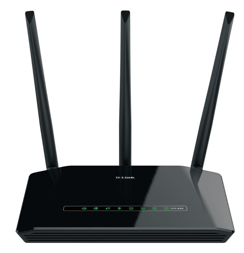 D-LINK WIFI N450 ROUTER WITH HIGH POWER (DIR-629)
