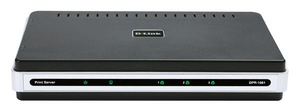 D-LINK WIRED PARALLEL + 2-PORT USB PRINT SERVER (DPR-1061)