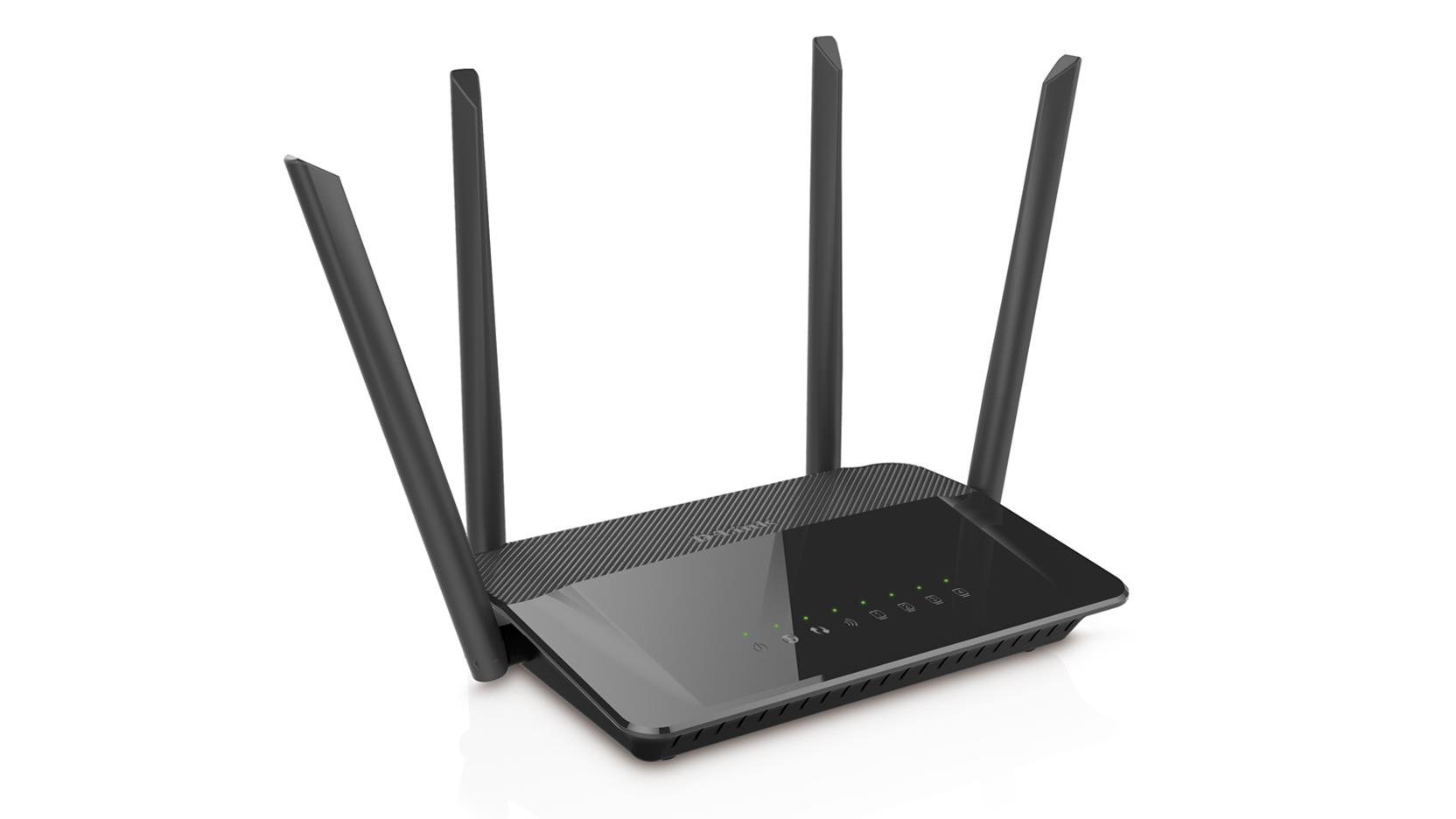 D-LINK WIRELESS AC1200 DUAL BAND GIGABIT ROUTER WITH 4 ANTENNA