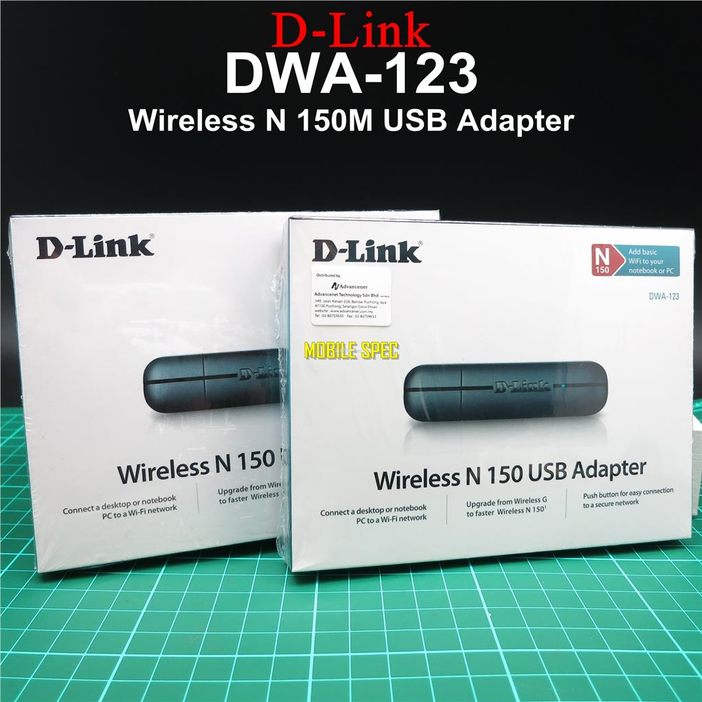 D LINK DWA 123 WIRELESS 11N USB ADAPTER DRIVER FOR WINDOWS