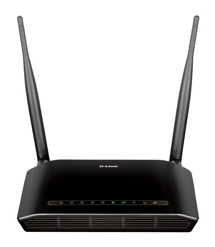D-LINK WIRELESS N 300 ADSL2+MODEM ROUTER