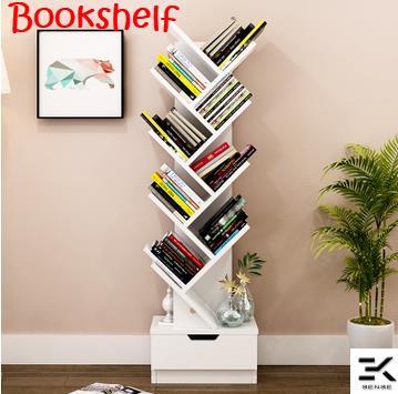 D4060 Tree Design Bookshelf Storage Rack 1 Month Pre Order