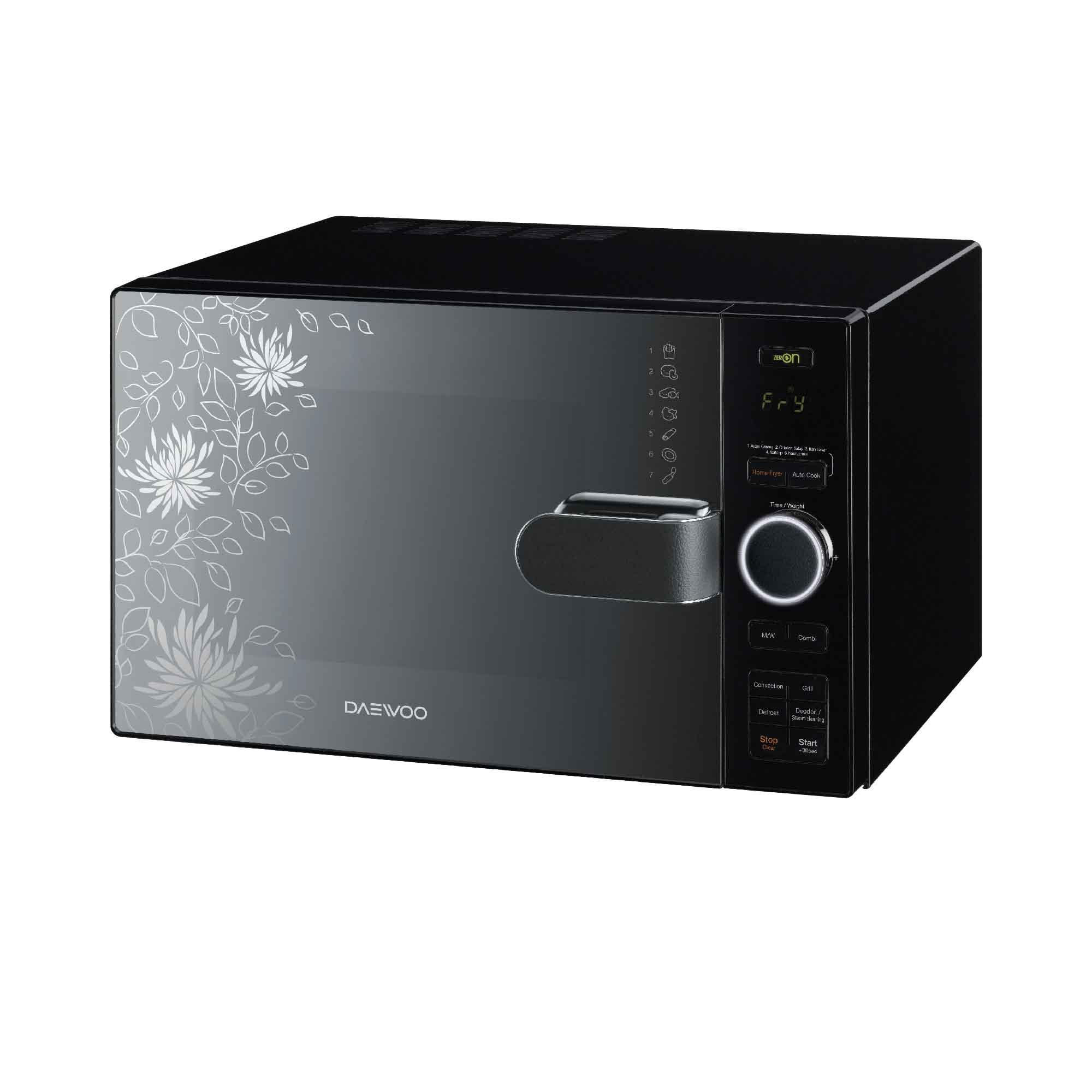 Daewoo Microwave Oven Air Fryer KOC- (end 9/15/2020 5:45 PM)