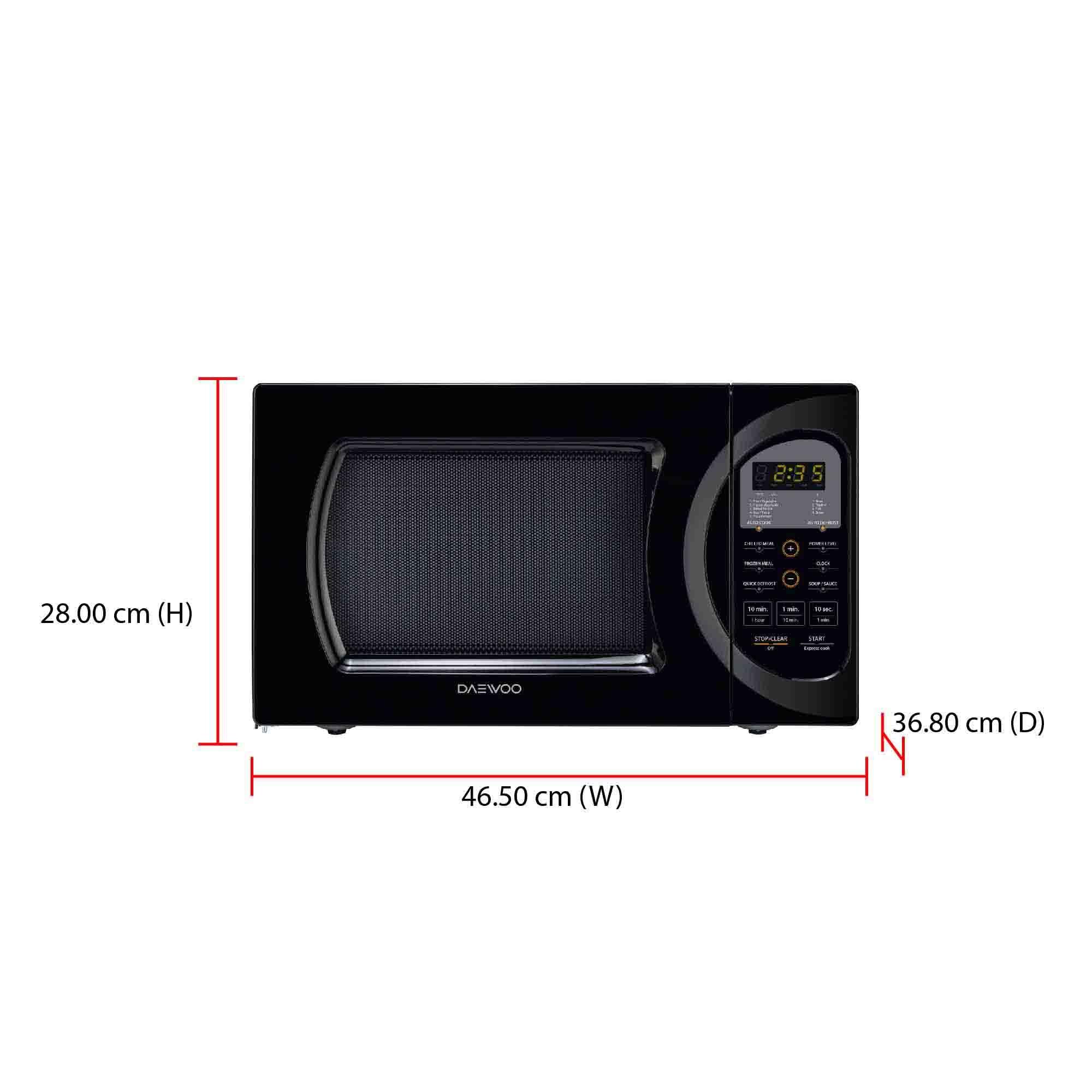 Daewoo Microwave Oven KOR-9GBB (26L) (end 7/4/2020 11:41 AM)