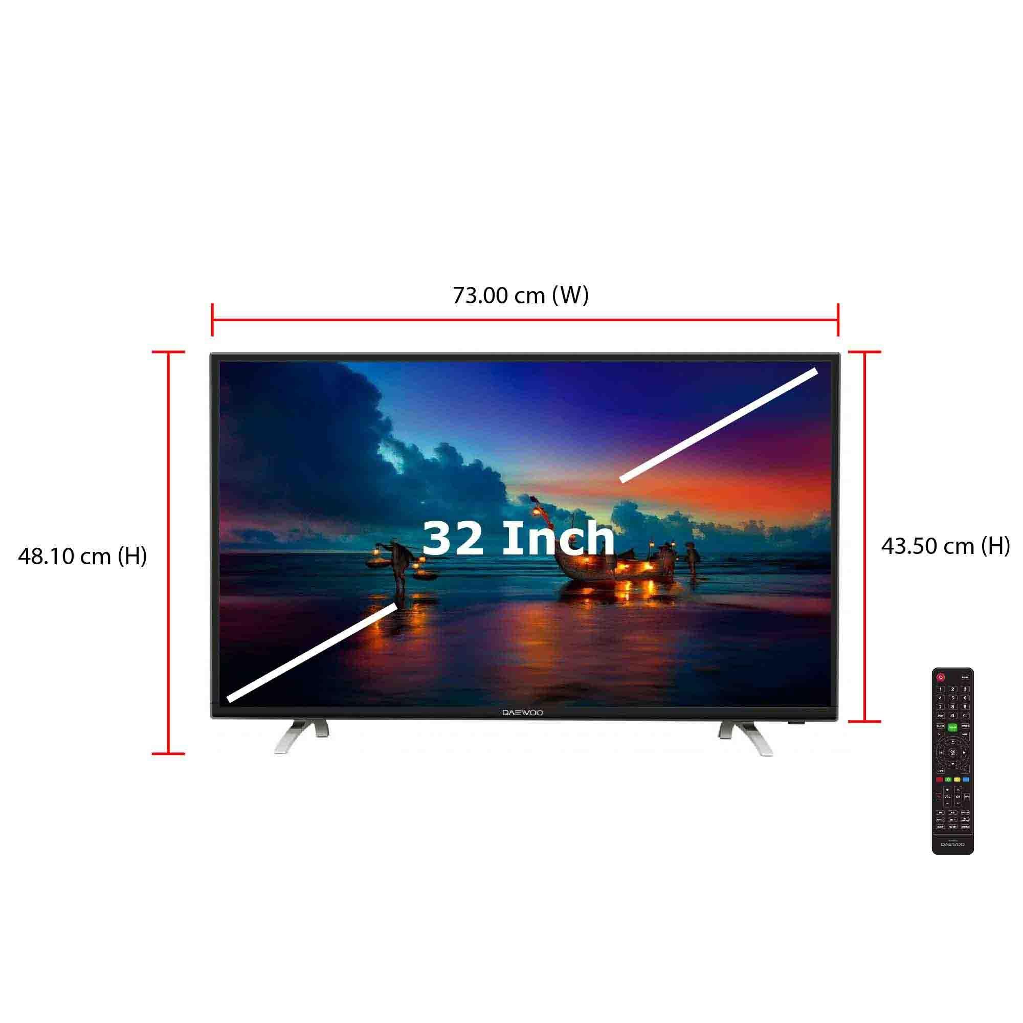 Daewoo TV L32S790VNA (32 Inch) 3 HDMI. ‹ ›