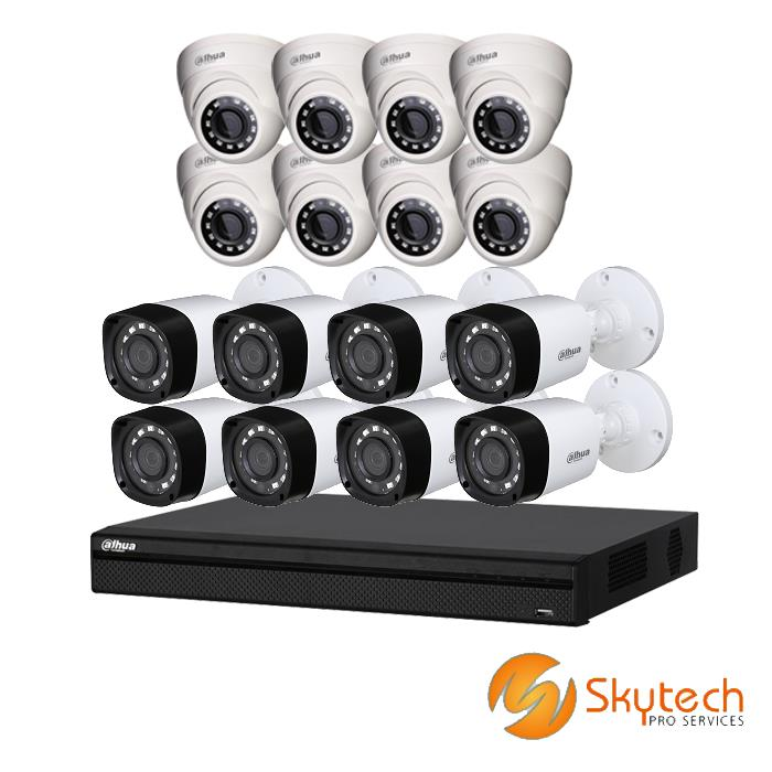 Dahua 1080P 16 Channel Pentabrid Package