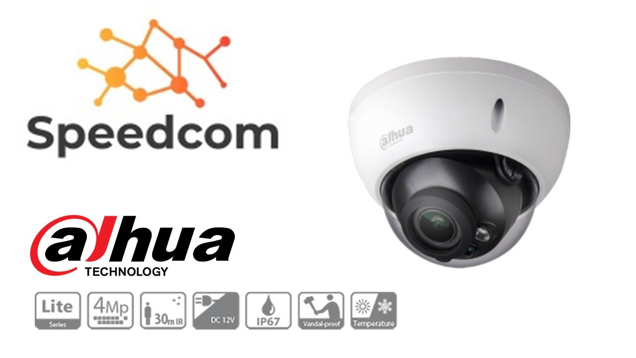 Dahua HAC-HDBW1400R-VF 4MP HDCVI IR Dome Camera
