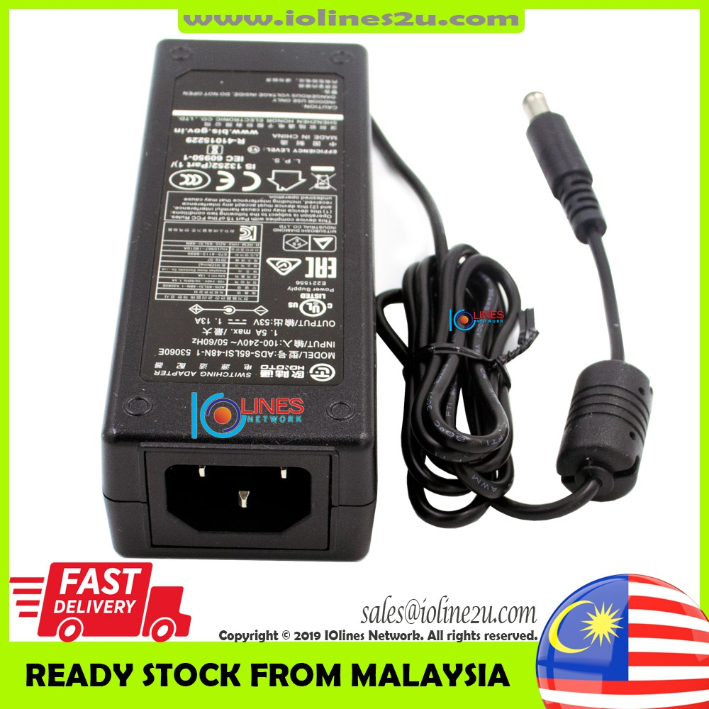 DAHUA HOIOTO ADS-65LSI-48N-1 53V DC 1.13A 60w Switching Power supply adapter P