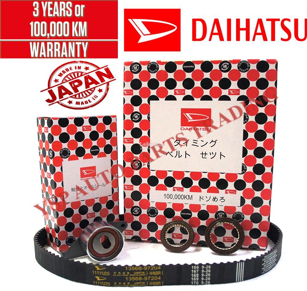 daihatsu 100,000km timing belt component set kancil 850 ezi injection  ‹ ›