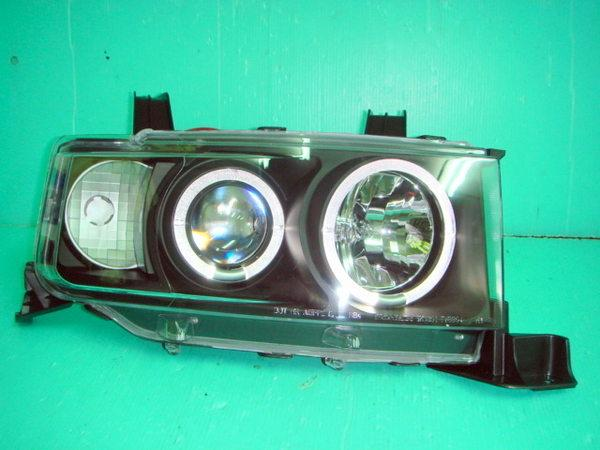 NEW Daihatsu BB Black Housing Crystal Projector LED Head Lamp