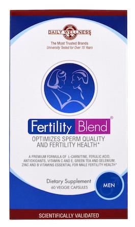 Daily Wellness Company Fertility Blend for Men, Vegetarian Caps (USA)