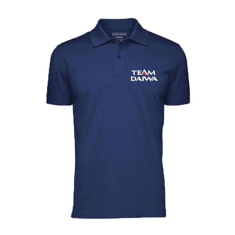 Daiwan Limited Fishing Polo T-Shirt Embroidery Logo EDR-008
