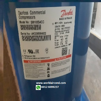 Danfoss Performer SM SY SZ SH Scroll Compressor