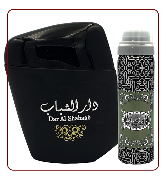DAR AL SHABAAB - ARABIC PERFUME BY ARD AL ZAAFARAN DUBAI FOR MEN
