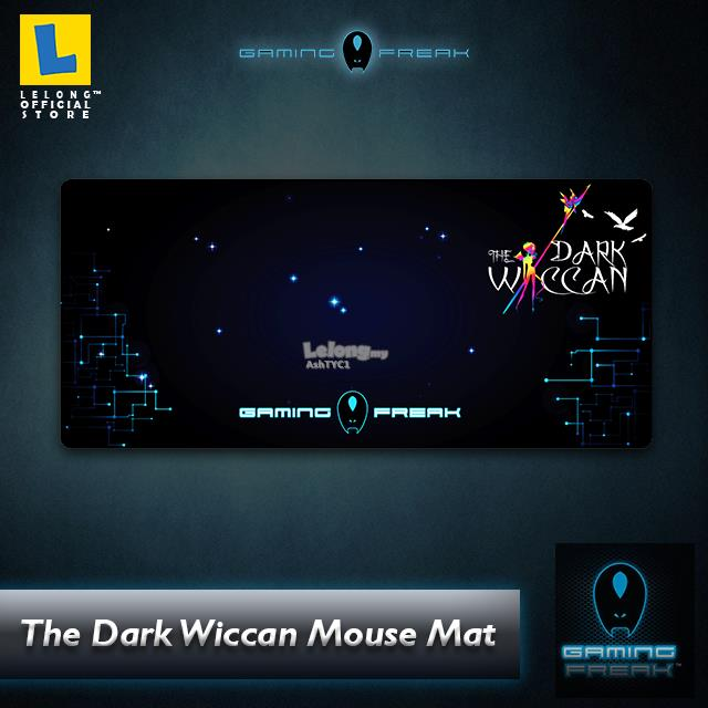 The Dark Wiccan Mouse Mat