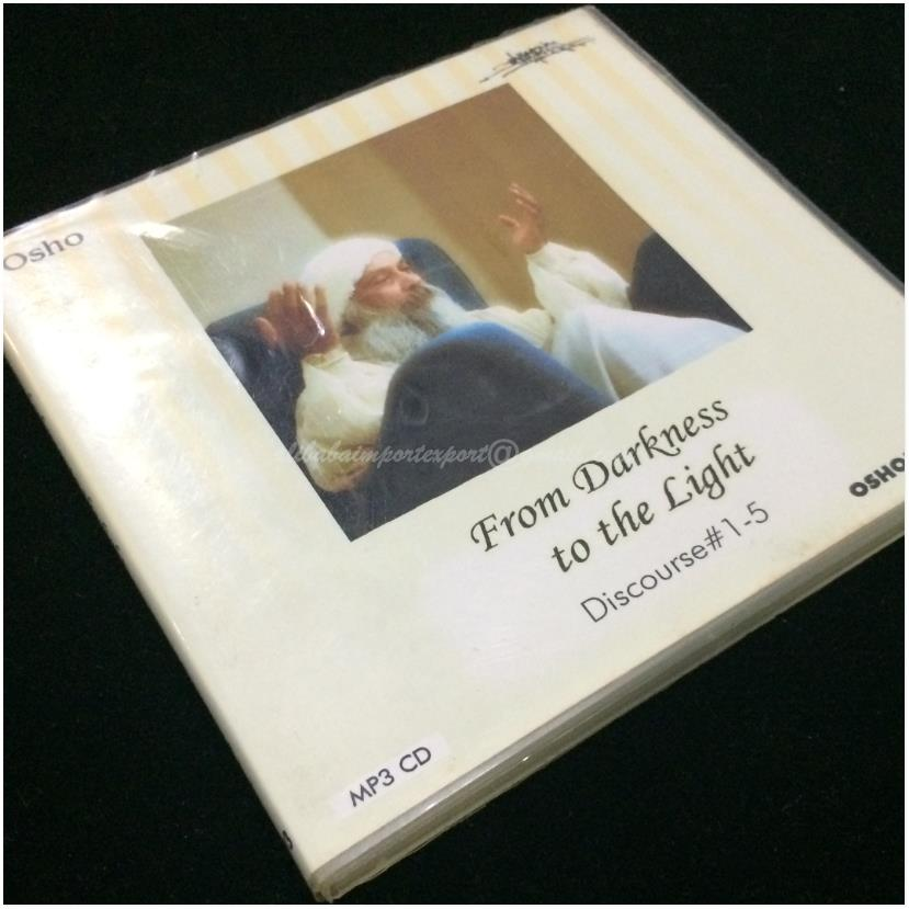 From Darkness To The Light English Osho Talks Discourses 1~5 MP3 CD