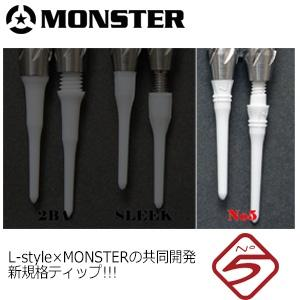 Darts-Monster GUNNER II JP Soft Tip Dart-NO5 -18g