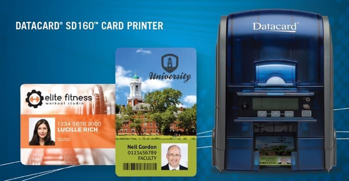DATACARD SD160 DESKTOP ID CARD PRINTER