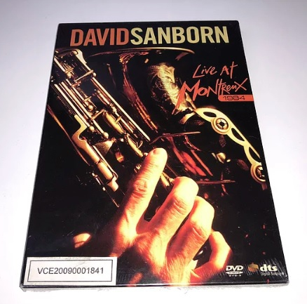David Sanborn Live At Montreux 1984 DVD (Imported)