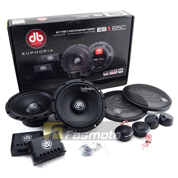 "DB Drive Euphoria ES1 65C 6.5"" Component Speaker System 65W RMS"
